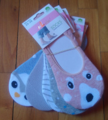 ÚJ! Színes zokni (100% pamut) csomag 35-38