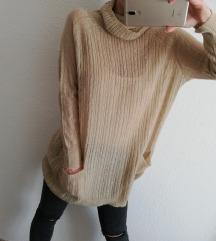 MANGO hosszított pulóver