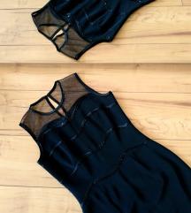 Rövid fekete alkalmi ruha