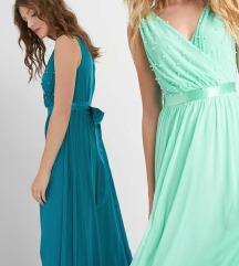 Gyöngyös zöld maxi ruha