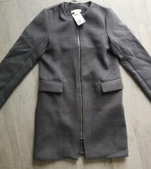 Új, címkés H&M rövid szövet kabát