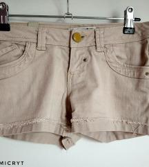 Pull&Bear drapp rövid nadrág (34)