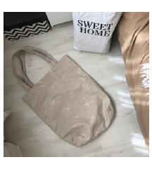 Nude shopper  bag