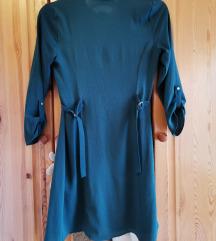 F&F zöld ruha, ing