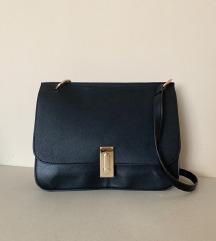 aboutyou vintage fekete bőr táska