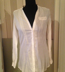 Fehér hosszított ing