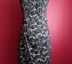 Barokk mintás ruha 38-as