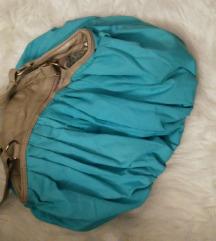 Türkiz kis kézi táska