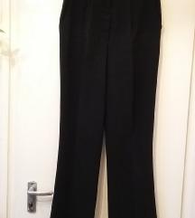 Mura Basic fekete vékony nadrág, 38-as