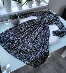 Áttetsző virágos ingruha M/L
