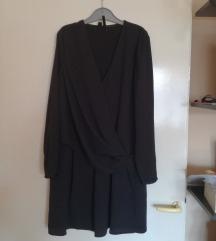 ÚJ CÍMKÉS gyönyörű fekete MANGO ruha