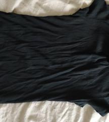 Garbós fekete felső S-M