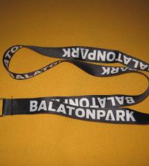 Új Balaton Park nyakpánt kulcstartó
