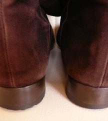 Kallisté 38-as barna bőr női csizma