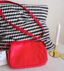 Kipling piros táska