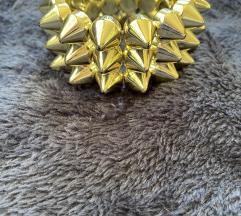 Aranyozott karperec karkötő