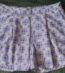 Kék-fehér rövid nadrág