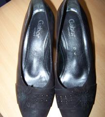 Gabor fekete velúrcipő 37,5 Új