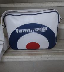 Lambretta oldal táska