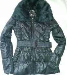 Orsay steppelt fekete kabát, bélelt, 36-os