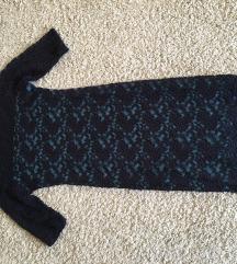 Kék csipke ruha