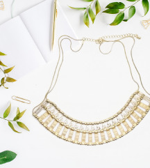 Arany színű antik jellegű nyaklánc
