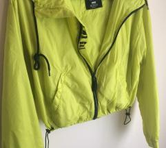 Sárga női dzseki
