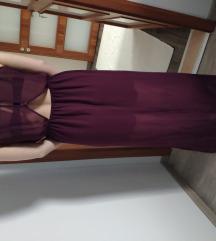 Lila maxi ruha