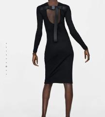 Zara címkés fekete ruha