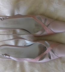 Chango&Rinaldi rózsaszín bőr szandál 39