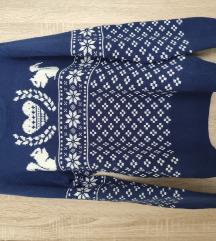 Fishbone őszi/téli mintás pulóver 34/36