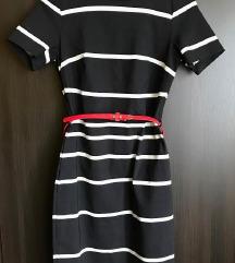 F&F csíkos ruha/ új címkés 38-
