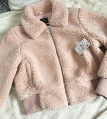 ÚJ címkés C&A teddy kabát M