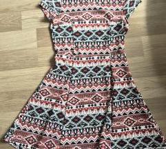 H&M mintás ruha