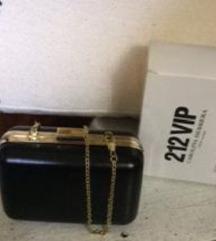 🎁Új eredeti fekete Carolina Herrera VIP handbox