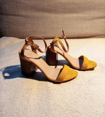 38-as New Look sárga szandál eladó