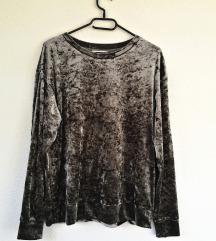 H&M bársony vastag felső/pulóver