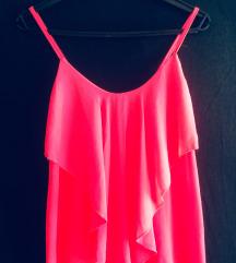 Neon rózsaszín felső