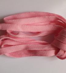 Rózsaszín cipőfűző