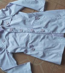 C&A pasztell lila kabát