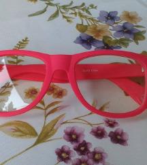 Málnaszínű hipster szemüveg