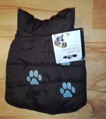 Új,címkés kutyakabát 20 cm háthossz