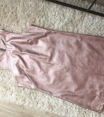 Rosegold műbőr ruha