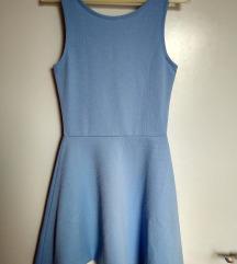 H&M kék skater ruha (34)
