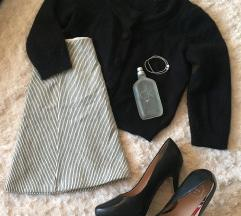 kasmír pulóver és harang szoknya XS/S