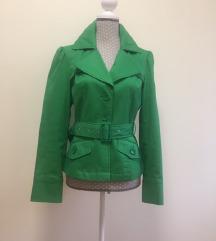 Élénk világoszöld kabát, zakó