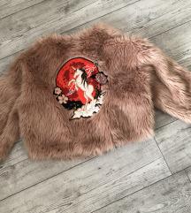 H&M Nicki Minaj kabát szőrme