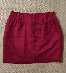 Pink őszi-téli szoknya