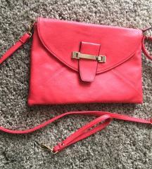 Olasz piros táska új