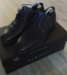 Férfi Bugatti fekete cipő 42